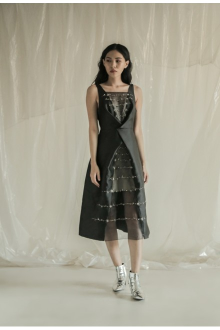 Koze Long Dress Black