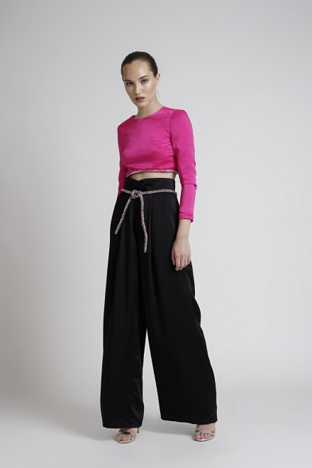 Lymer Top Fuschia