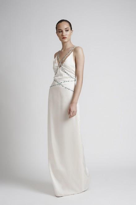 Zelma Dress Champagne