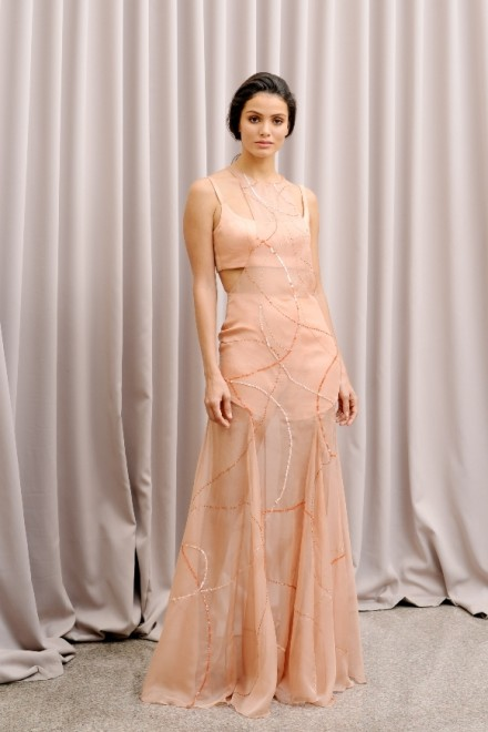 Lila Dress Bronze
