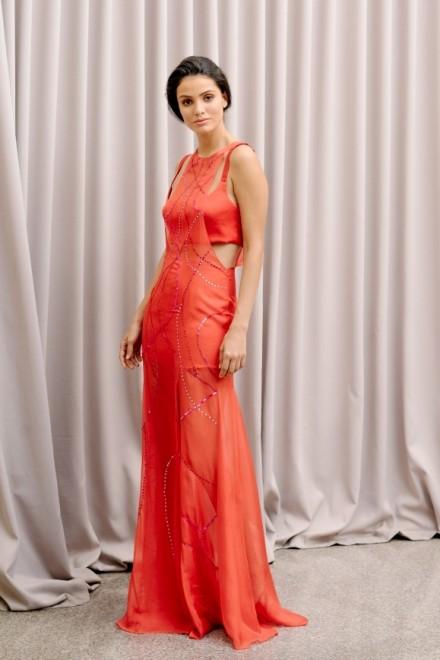 Lila Dress Red